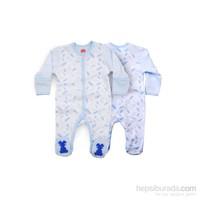 Baby Corner Havuç Tulum / Beyaz Mavi