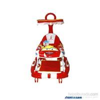 WellGro Crash Car Ebeveyn Kontrollü Yürüteç / Kırmızı