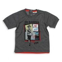Modakids Nanica Erkek Bebek Baskılı T-Shirt (1-3 Yaş) 001-4902-008