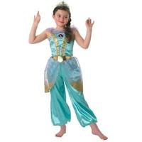 Prenses Jasmine Çocuk Kostüm 7-8 Yaş Glitter