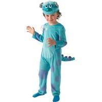 Monster Sully Çocuk Kostüm Lüks 3-4 Yaş