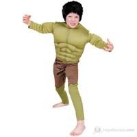 Hulk Çocuk Kostüm Premium 6-8 Yaş
