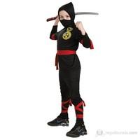 Ninja Çocuk Kostüm Klasik 4-6 Yaş