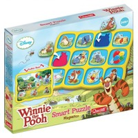 Quercetti Smart Mıknatıslı Puzzle-Wınnıe The Pooh