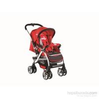Drago Baby BCO 289 Truva Çift Yönlü Bebek Arabası / Kırmızı