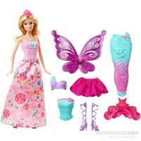 Barbie Sihirli Dönüşen Balerin-Denizkızı-Prenses
