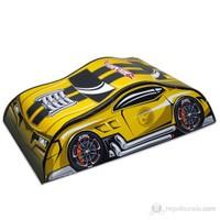 Hot Wheels Çantalı Araç Oyun Parkuru Sarı