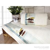 İrya Style Baskılı Havlu 50x90 cm