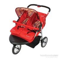 Babymax Fıtta İkiz Jogger Bebek Arabası Ts 128
