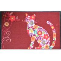 Giz Home Print Mat Color Cat 40x60 cm