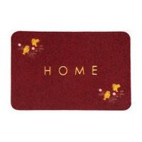 Giz Home Nakışlı/Brode Kapı Paspası 40X60 Kırmızı Kuş