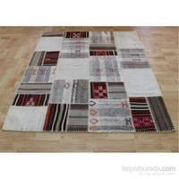 Jüt Tekstil Patcwork Kilim 1-150X200