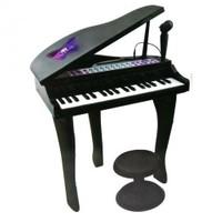 Vardem 37 Tuşlu Kuyruklu Karaoke Piyano Elektronik Siyah