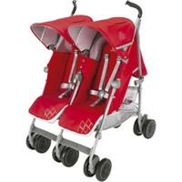 Maclaren Yeni Twin Techno İkiz Bebek Arabası Cardinal