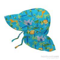 İ Play Upf 50+ Güneş Korumalı Fun Flap Bebek Şapka Turkuaz
