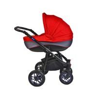 Pajero Alu Bebek Arabası Portbebe Kırmızı 1M