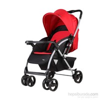 Crystal Baby 295 Solara Bebek Arabası - Kırmızı