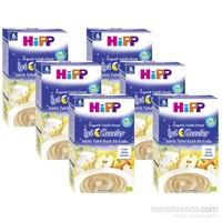 Hipp Organik İyi Geceler Yulaflı Elmalı Tahıl Bazlı Kaşık Maması 250 gr - 6'lı