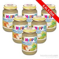 Hipp Organik Üzümlü Elmalı Pirinçli Meyve Püreli Kavanoz Maması 190 gr - 6'lı