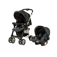 Crystal Baby 800 Olivera Travel Set Bebek Arabası Siyah