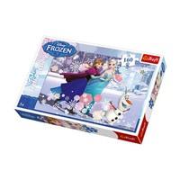 Vardem Puzzle Frozen 160 Parça