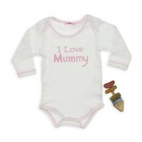 Modakids Bambaki Kız Bebek Uzun Kol Baskılı Body 013-1059-021