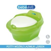 Bebedue Potty Müzikli Lazımlık Green
