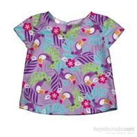 iplay 50 Faktör Korumalı, Kısa Kollu T-Shirt / Lavender Toucan