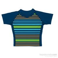 iplay 50 Faktör Korumalı, Kısa Kollu T-Shirt / Multi Stripe