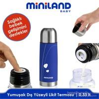 Miniland Baby Yumuşak Termos Küçük Mavi