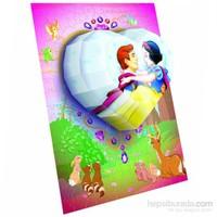 Mega Puzzles 125 Parça 3Boyutlu Puzzle Breakthrough D.Prenses Kalp