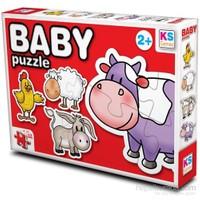 Baby Puzzle Çiftlik