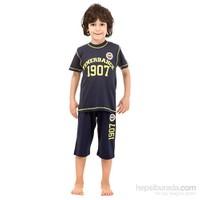 Roly Poly 3036 Fenerbahçe Lisanslı Erkek Çocuk Pijama Takımı Lacivert 4 Yaş (104 Cm)