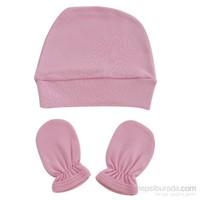 Miss Gaya Bebek Şapka Eldiven Set/Kız