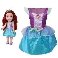 Disney Prenses Ariel Kostümlü Ve Bebek Seti 2 - 4 Yaş