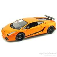 Maisto Lamborghini Gallardo Superlegerra Diecast Model Araba 1:18 Special Edition Turuncu