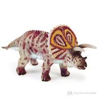 Geoworld Avcı Dinozor Triceratops Figür 18 Cm