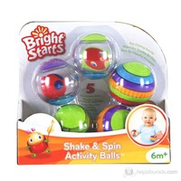 Bright Starts Shake & Spin Activity Balls Oyuncak