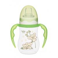 Wee Baby Akıtmaz Kulplu PP Bardak 250ml / Yeşil