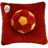 Galatasaray Lisanslı Toplu Peluş Kare Yastık