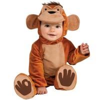 Neşeli Maymun Bebek Kostümü 6-12 Ay
