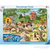 Ravensburger 47 Parça Büyük Çerçeveli Frame Yapboz Hayvanat Bahçesi