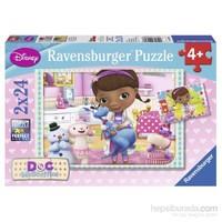 Ravensburger 2X24 Parça Puzzle Doc Mcstuffins