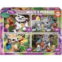 Educa Çocuk Puzzle Multi 4 İn 1 Fairies
