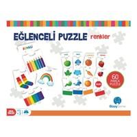 Gizzy Game Eğlenceli Puzzle (60 Parça Renkler)