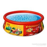 İntex Disney Cars Lisanslı Şişme Çocuk Havuzu 183X51 Cm