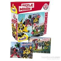 Kırkpabuç Transformers Puzzle 60+90 Parça Mission