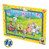 Kırkpabuç 6860 15 Parça Sünger Bob Boyamalı Puzzle