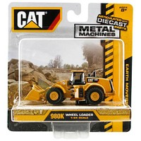 Cat Metal Koleksiyon Araçları Kepçe İş Makinası