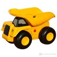 Cat Sesli Ve Işıklı Dump Truck İş Makinası